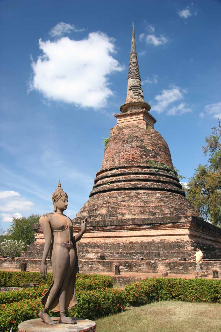 Another Buddha and chedi