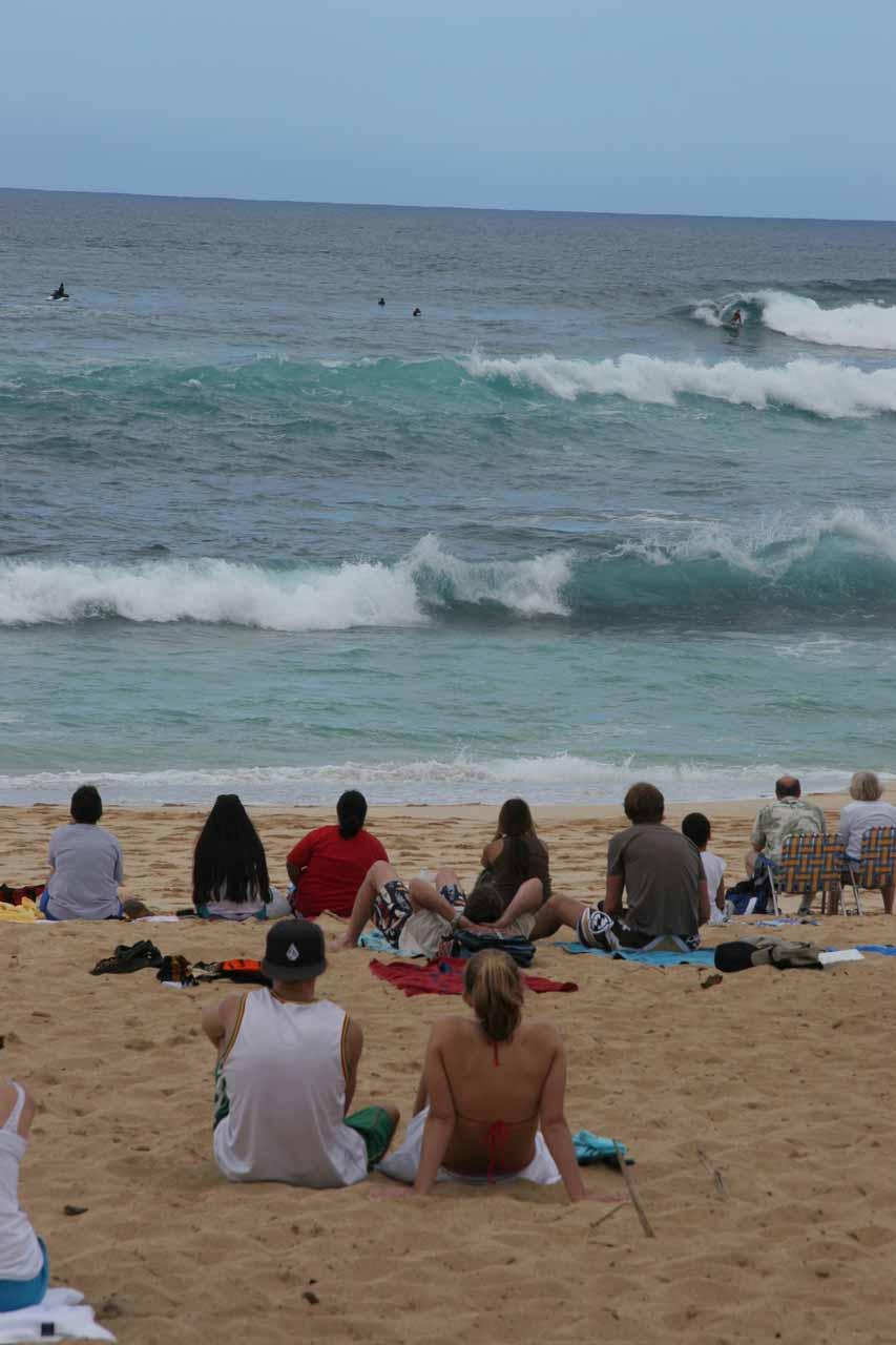 Surf contest at Sunset Beach