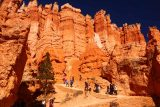 Sunset_Sunrise_Loop_175_04032018 - Ascending amongst towering and attractive hoodoos up to Sunrise Point