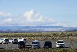 Svinafellsjokull_006_08082021 - Looking back at the car park for Freysnes with the Breidararjokull in the distance