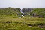 Svodufoss_006_08172021 - Looking across towards Svodufoss while walking closer to the overlook