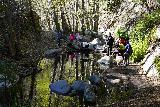 Switzer_Falls_033_12282019 - Another one of the somewhat tricky stream crossings of Arroyo Seco en route to Switzer Falls