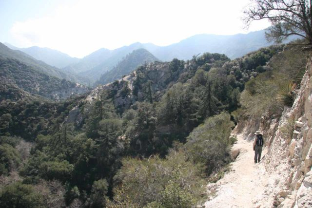Switzer_Falls_035_03072009 - The rugged wilderness of the San Gabriel Mountains