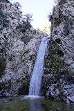 Switzer_Falls_087_12282019 - More frontal look right at the main drop of Switzer Falls