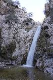 Switzer_Falls_104_12282019 - Long exposed look at the main drop of Switzer Falls