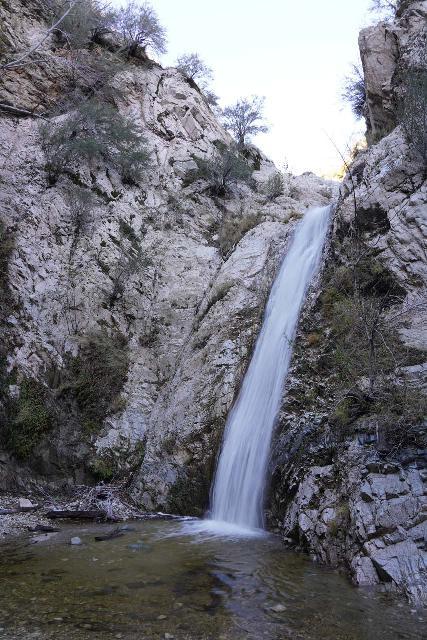 Switzer_Falls_104_12282019 - The main drop of Switzer Falls