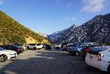 Switzer_Falls_168_12282019 - There were still lots of cars parked at the upper parking lot for Switzer Falls even though we didn't see that many people going down the other way