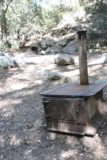 Switzer_Falls_241_04232016 - Another look at the stoves left by the trail junction on the Switzer Falls hike as seen in April 2016