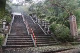 Syasui_Falls_009_10162016 - This set of slippery steps led up to the larger of two shrines on the way to the Syasui Falls. We opted to punt these until after our waterfall visit