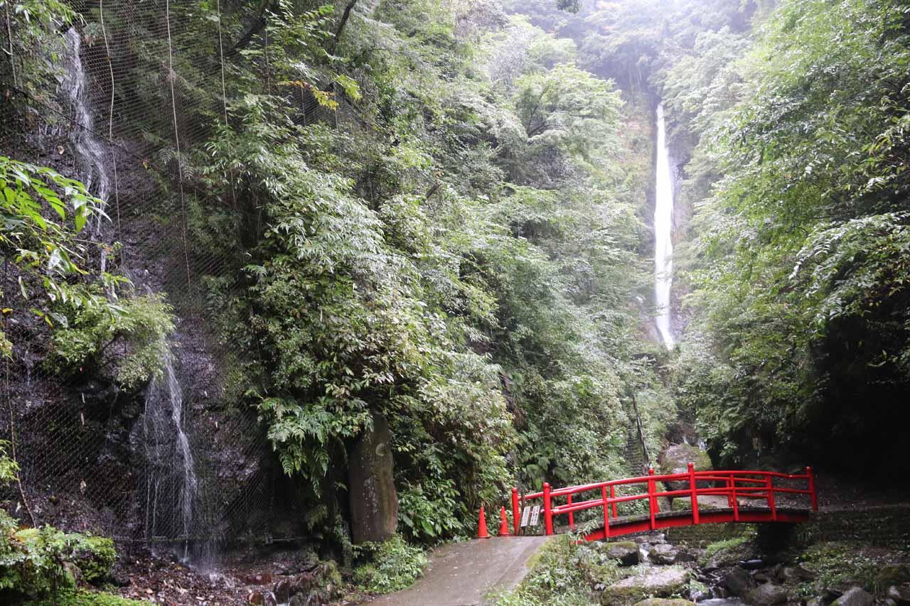 Syasui Waterfall or Shasui Waterfall