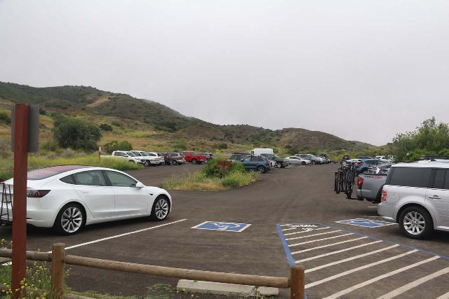 Sycamore_Canyon_Falls_011_06012019 - The main parking lot for Rancho Sierra Vista / Satwiwa