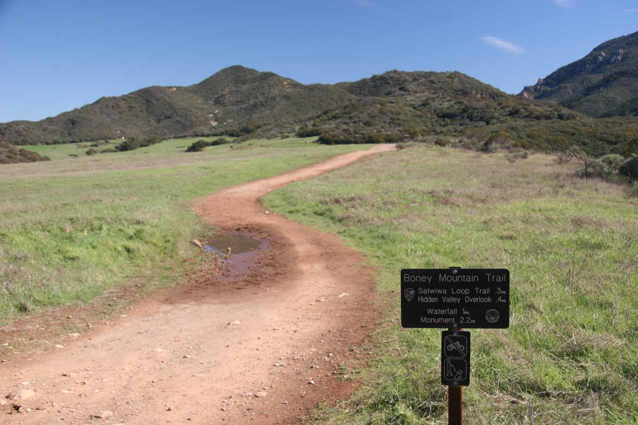 On our 2010 visit, we took this trail to Sycamore Canyon Falls