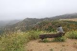 Sycamore_Canyon_Falls_079_06012019 - At a bench overlooking Sycamore Canyon as we were trying to figure out if we were going the right way to Sycamore Canyon Falls or not