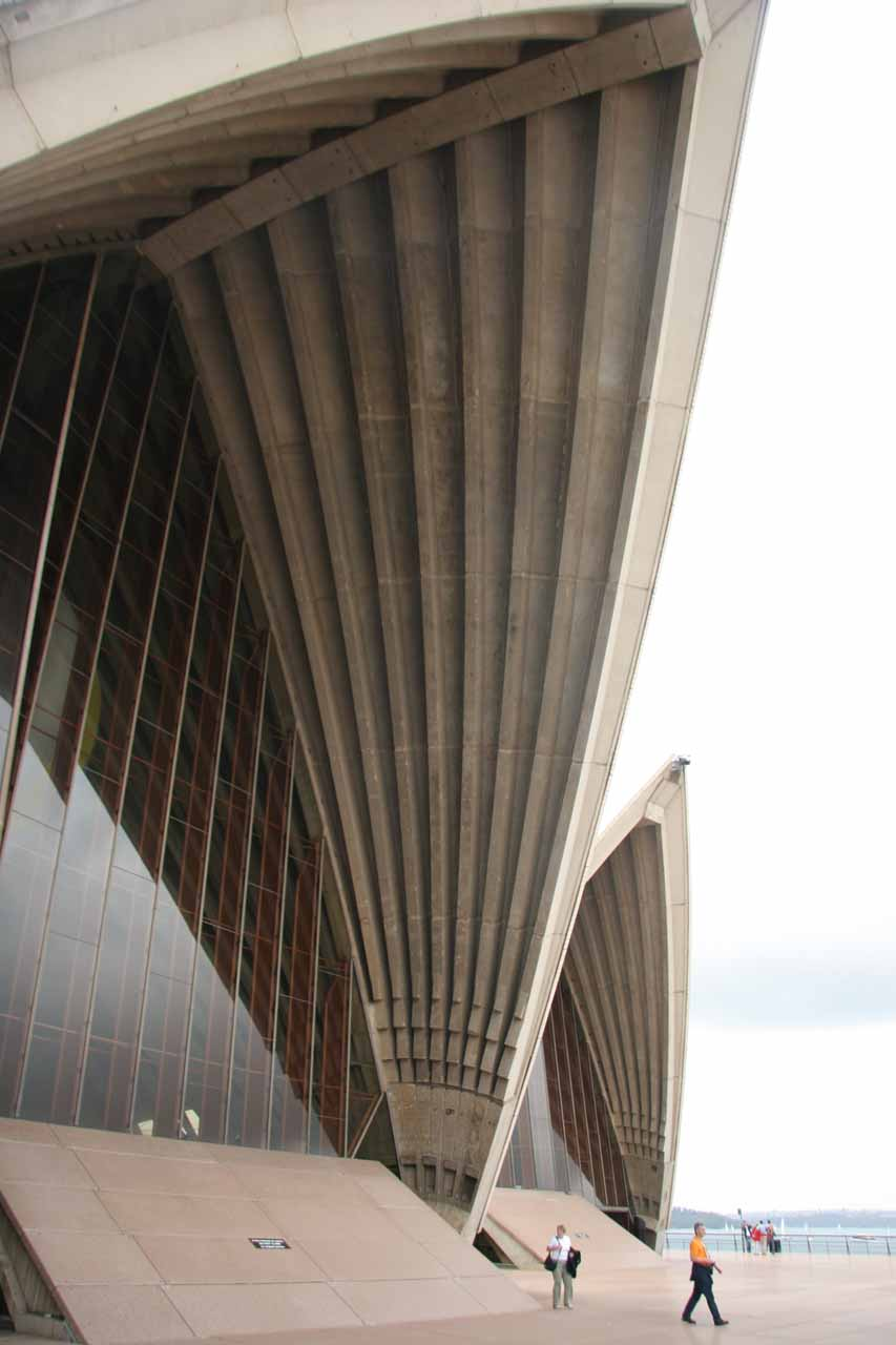 A couple hours drive east of the Blue Mountains (where Gordon Falls was located) was the cosmopolitan city of Sydney and its famous Opera House shown here