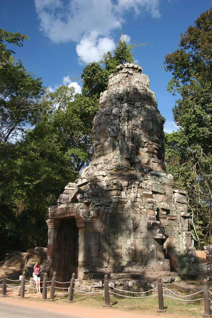 The entrance to Ta Prohm