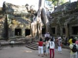 Ta_Prohm_035_jx_01072009 - Lots of people at Ta Prohm