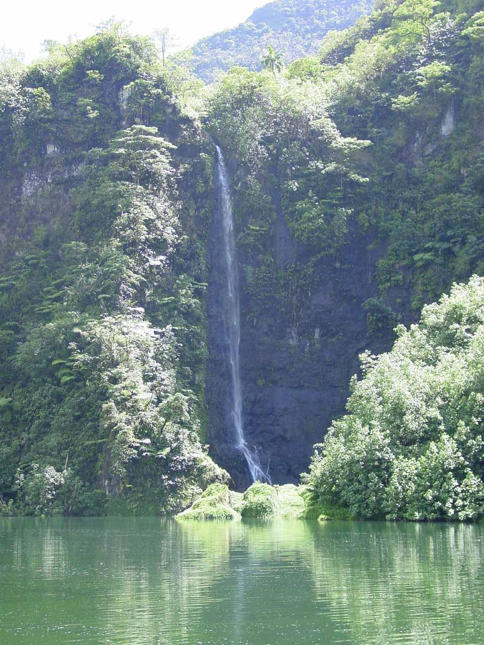 Closeup of Puraha Waterfall