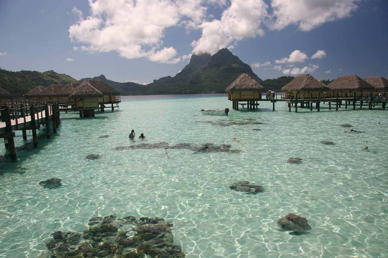 Most visitors to Tahiti land in Papeete, then quickly take the next flight to islands like Bora Bora (shown here) and/or Moorea, but that means missing out on Tahiti's more authentic features