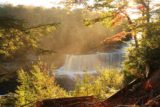 Tahquamenon_Falls_027_09302015 - Our first look down at the Upper Tahquamenon Falls against the late afternoon sun