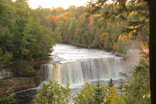 Tahquamenon_Falls_097_09302015 - Right after our Pictured Rocks Spray Falls Cruise, it was a race against sunset to visit the Tahquamenon Falls, which was our bit of itinerary turmoil given the uncertainty of the Pictured Rocks Cruise happening from weather-related cancellations