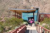 Tahquitz_Falls_006_02252017 - The line for the Tahquitz Falls hike went out the door of this visitor center