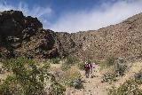 Tahquitz_Falls_009_05192019 - The group on the open hike into the mouth of Tahquitz Canyon after having paid on gone past the visitor center in May 2019