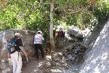 Tahquitz_Falls_043_05192019 - The family getting closer to the front of Tahquitz Falls as the trail re-entered the shade during our visit in May 2019