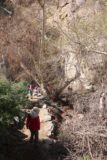 Tahquitz_Falls_056_02252017 - Tahia and Julie approaching the end of the Tahquitz Falls Trail in February 2017