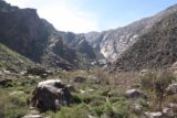 Tahquitz_Falls_101_02252017 - Looking back towards Tahquitz Canyon near the end of our hike in February 2017