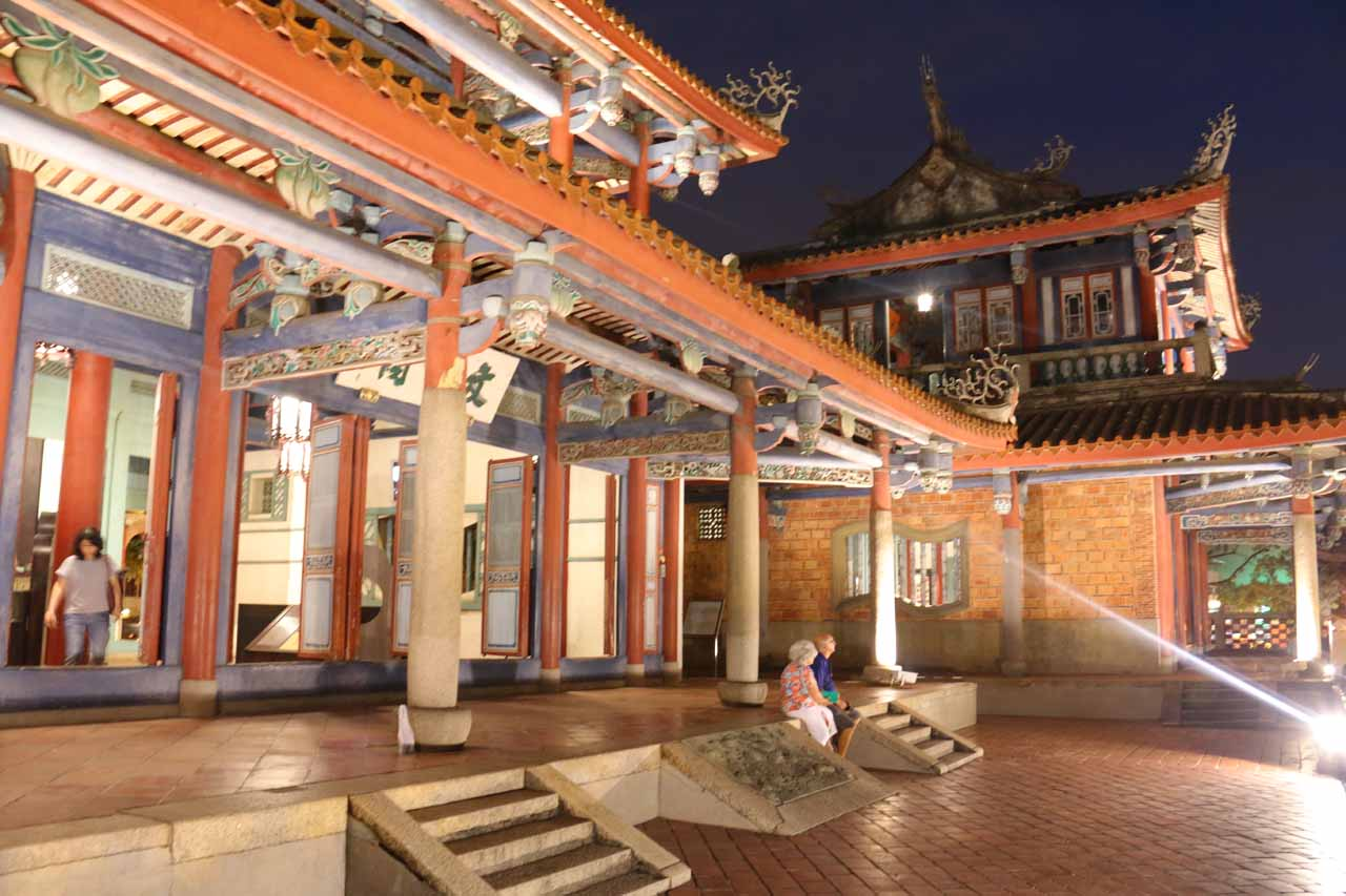 Just to the north of Kaoshiung City was Tainan City, which was said to be the cultural capital of Southern Taiwan. Shown here is the historically important Chihkan Towers
