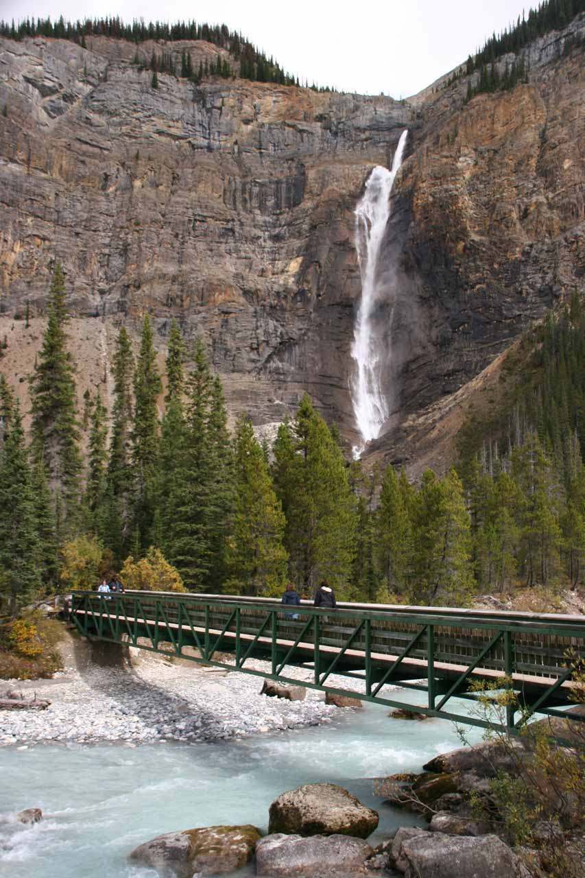 More benign conditions en route to Takakkaw Falls