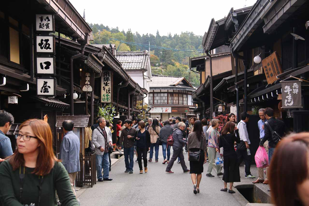 To the west of the Norikura-kogen was the charming city of Takayama, which featured the Sanmachi District with its charming and atmospheric alleyways