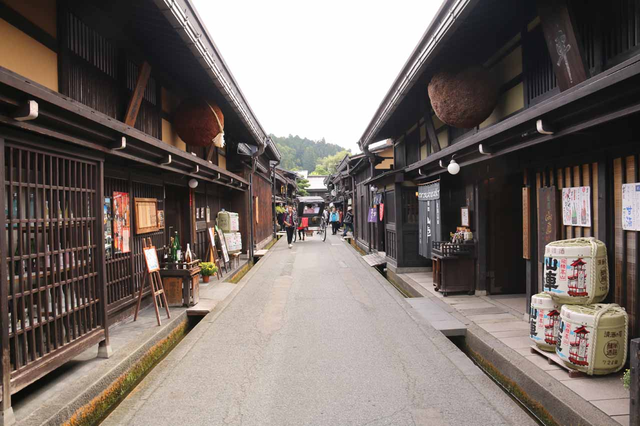 To the west of Hirayu Falls was the charming city of Takayama, which featured the Sanmachi District with its charming and atmospheric alleyways
