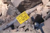 Tamanawas_Falls_068_08182017 - Some temporary signs erected to keep people on the makeshift trails to minimize further erosion