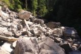 Tamanawas_Falls_145_08182017 - Going back across the rock slide on my way back from Tamanawas Falls during my August 2017 hike