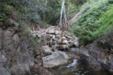 Tangerine_Falls_17_030_04022017 - After keeping right at a trail junction with a pole by it (which wasn't there on my first visit in 2009), I eventually got to a part where I had to follow a faint trail alongside this stream