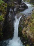 Taranaki_Falls_005_11162004 - Some small waterfall seen on the way to Taranaki Falls
