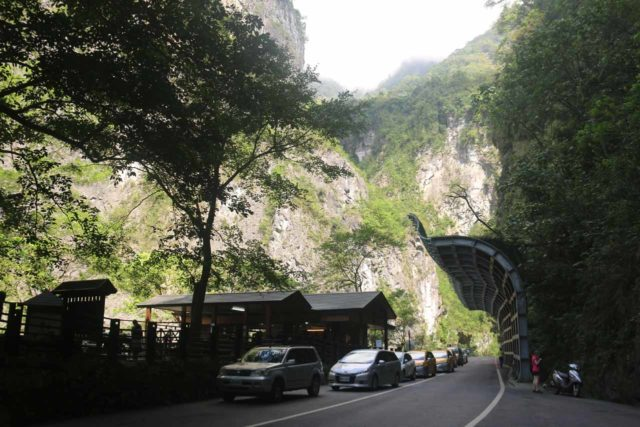 Taroko_Gorge_008_10262016 - We managed to find parking near this cafe within walking distance of the Swallow Grotto section of the Taroko Gorge