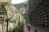 Taroko_Gorge_024_10262016 - Context of loads of people walking past a large rockfall shelter as we headed towards the Swallow Grotto