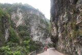 Taroko_Gorge_137_10262016 - More context of walking the narrow rockfall-prone roads of the Taroko Gorge