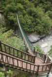 Taroko_Gorge_210_10262016 - Looking down at the suspension bridge entrance though it required a permit to enter