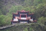 Taroko_Gorge_237_10262016 - Looking high up on the cliffs towards this temple way above the Shrine of the Eternal Spring