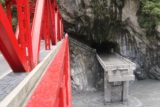 Taroko_Gorge_279_10262016 - When we went for a closer look at the Shrine of the Eternal Spring, we noticed this pathway across the road bridge
