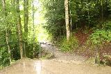 Tatzelwurm_Waterfall_023_06282018 - Taking the side path leading down to the bridge fronting the Lower Tatzelwurm Waterfall