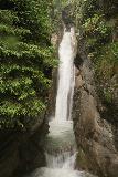 Tatzelwurm_Waterfall_051_06282018 - Portrait look at the Lower Tatzelwurm Waterfall and a smaller cascade fronting it