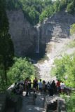 Taughannock_Falls_049_06162007 - Approaching the crowded upper viewpoint