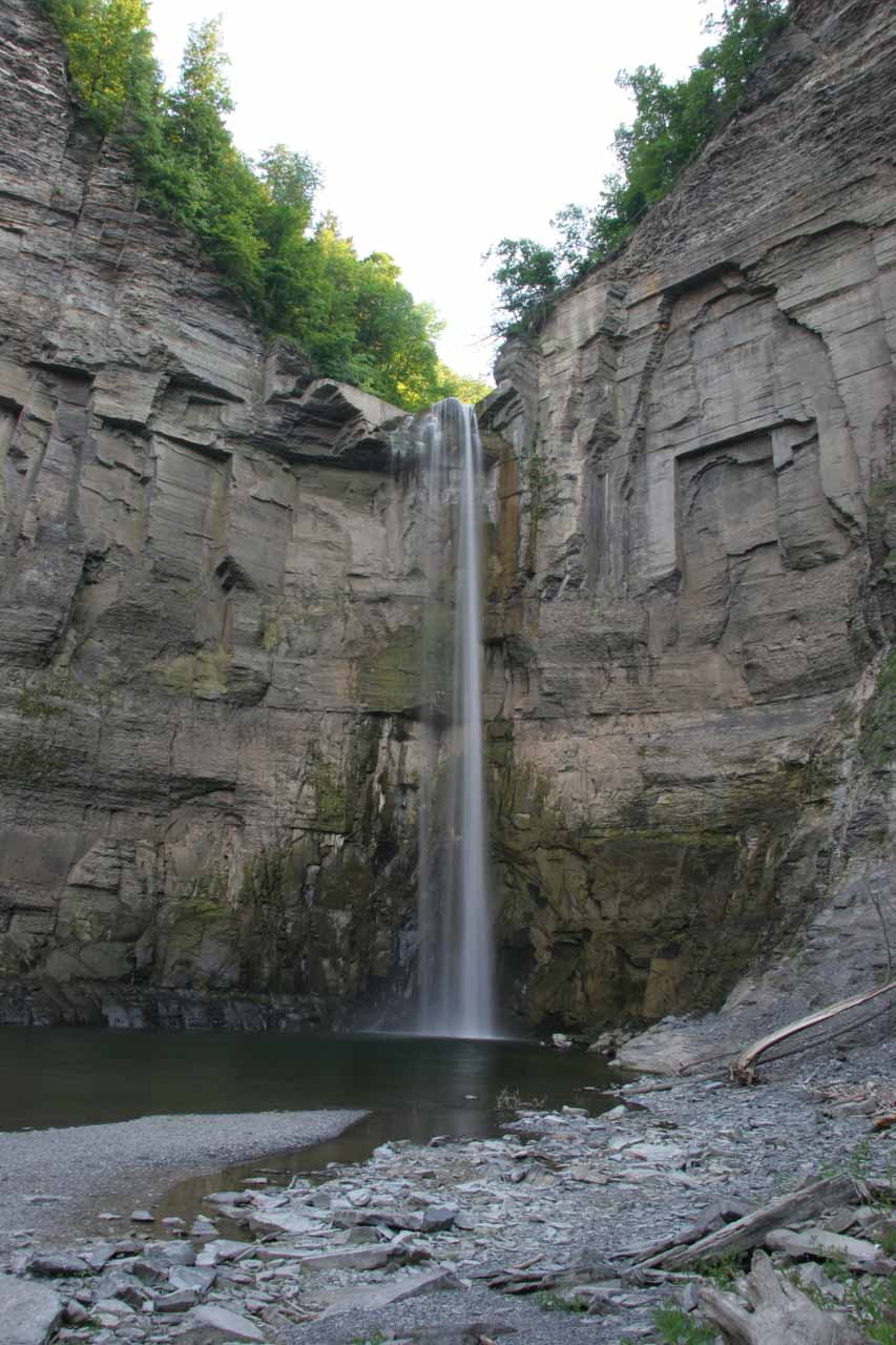 Direct view of Taughannock Falls