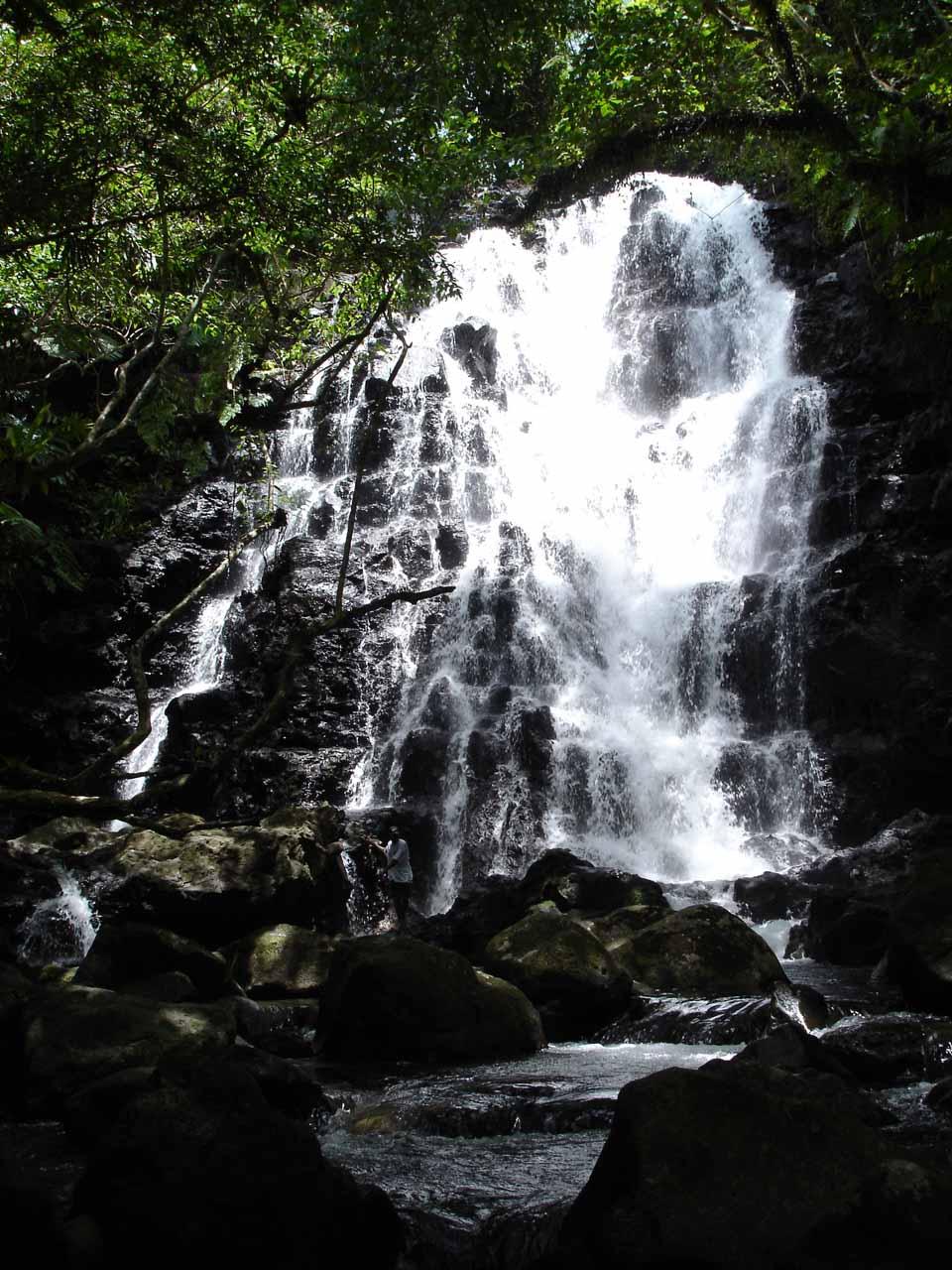 Last look at Waibula Falls