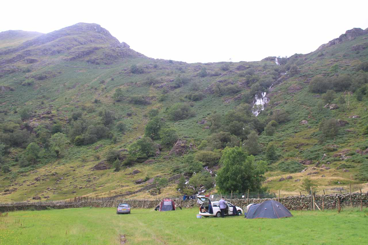 Some campers before the Taylor Gill Force