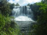 Te_Urewera_089_11142004 - Broad look across the plunge pool towards the Papakorito Falls